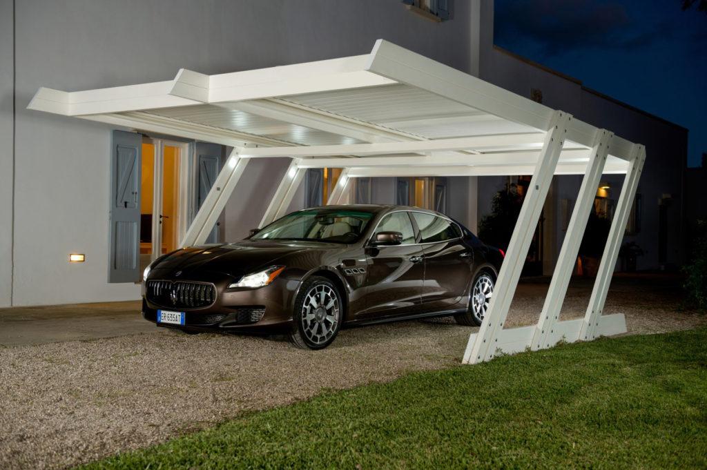 Carport aluminium